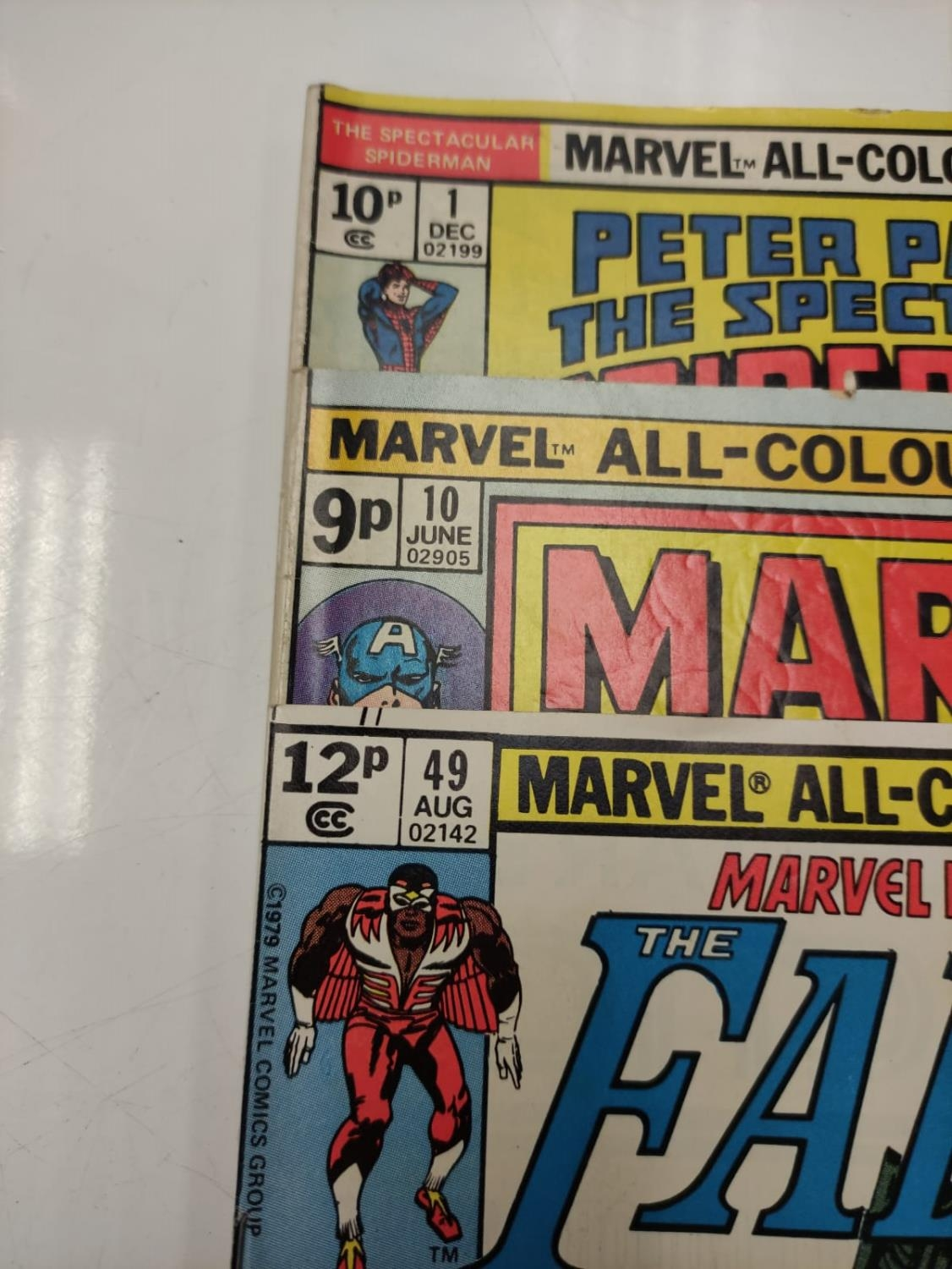 3 Eclectic Vintage Marvel Comics, including the rare 'Peter Parker, The Spectacular Spider-Man'. - Image 4 of 8