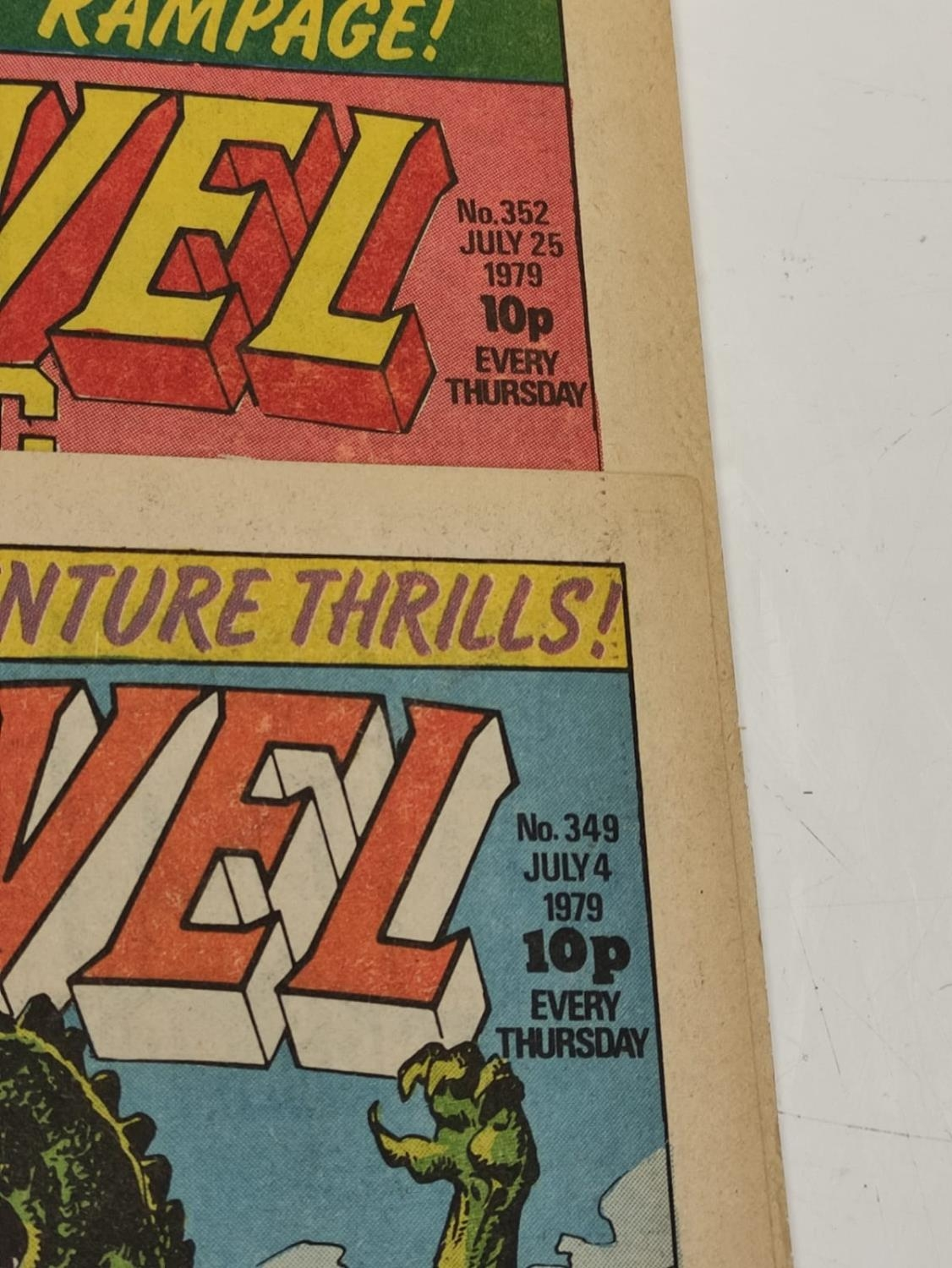 20 editions of mixed Vintage Marvel Comics. - Image 34 of 56