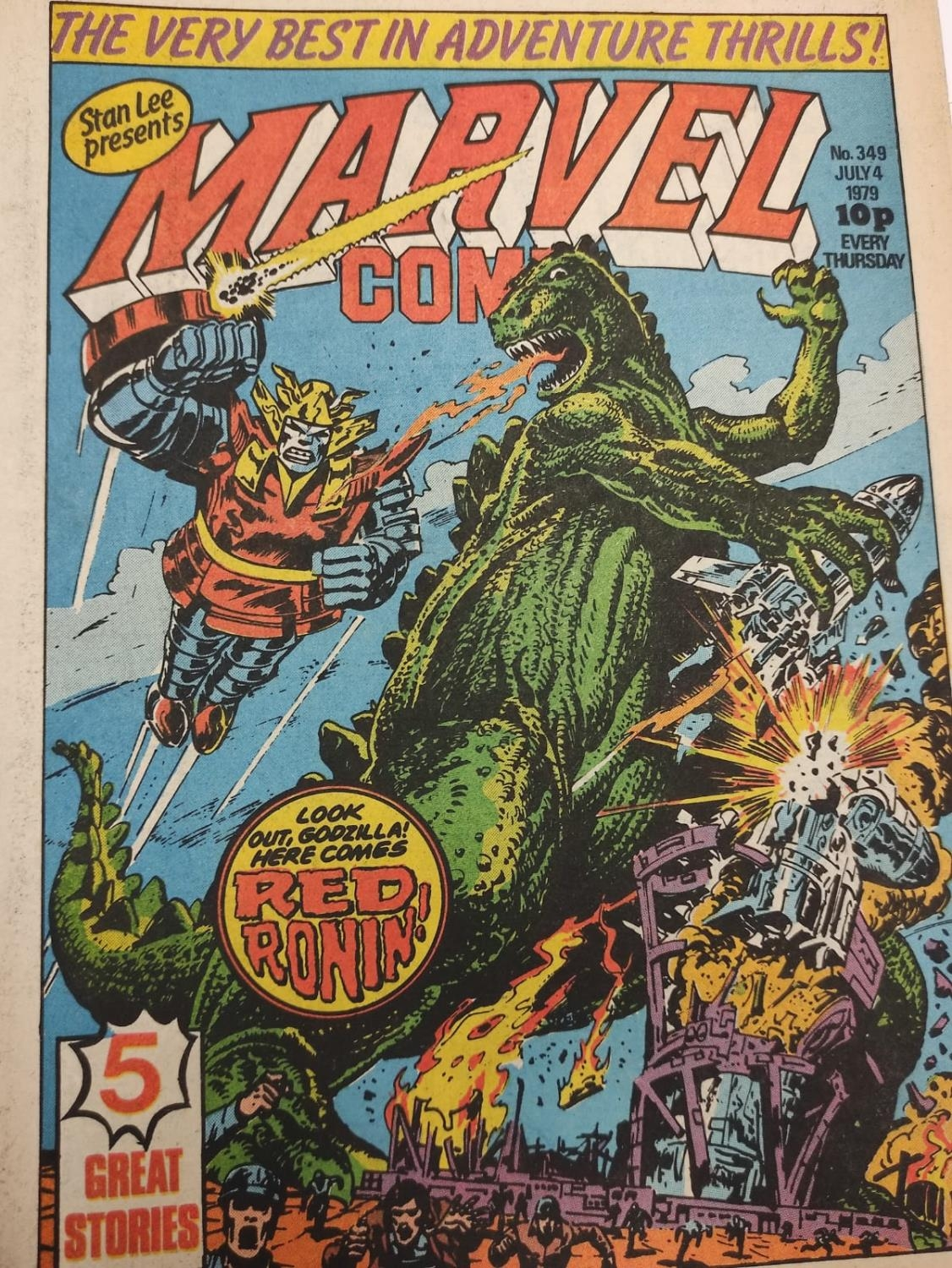20 editions of mixed Vintage Marvel Comics. - Image 45 of 56