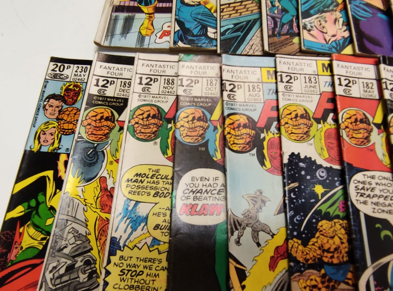 30x Marvel Fantastic four mid 1970s editions. Used, in good condition. - Image 7 of 17