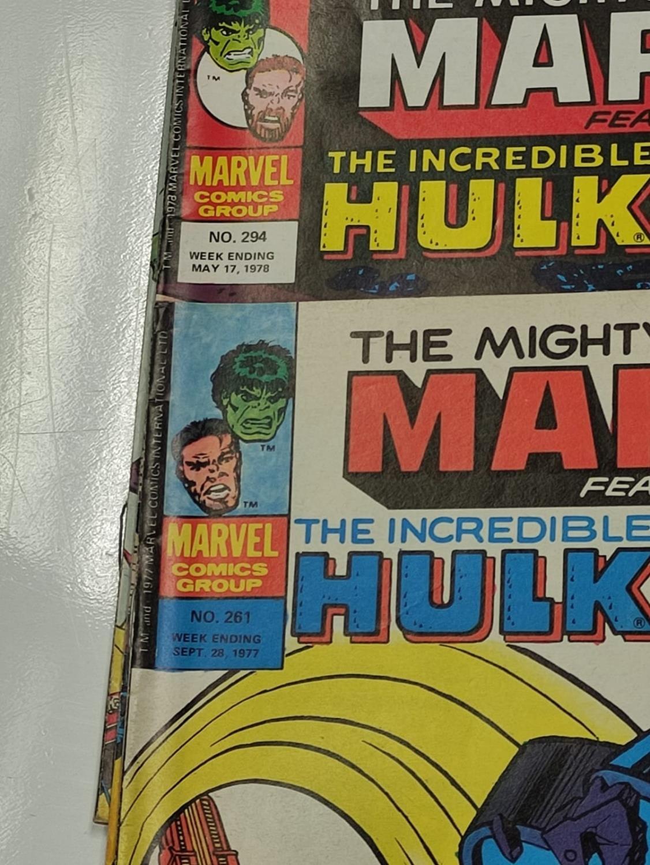 20 Mixed Vintage Marvel Comics. - Image 23 of 42