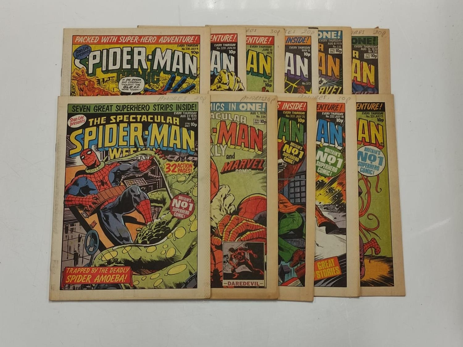 50 editions of Stan Lee Presents, a selection of 1979/1980's comics. - Image 71 of 71