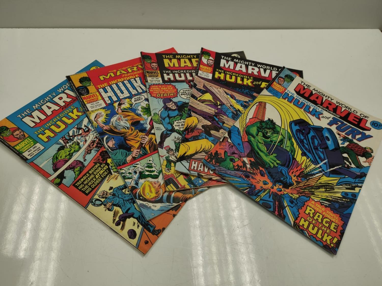 20 Mixed Vintage Marvel Comics. - Image 5 of 42