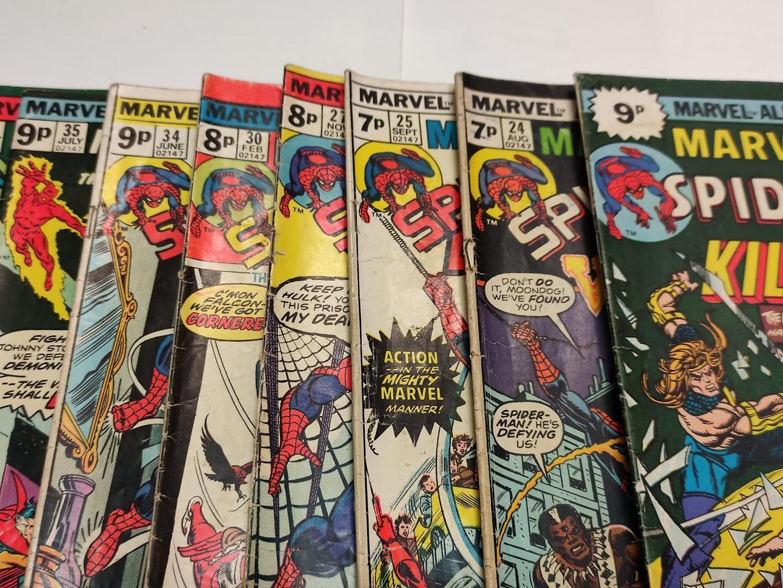 24 x Marvel comics. Marvel Team-Up featuring Spider-Man. 1977 - 1980. - Image 6 of 10