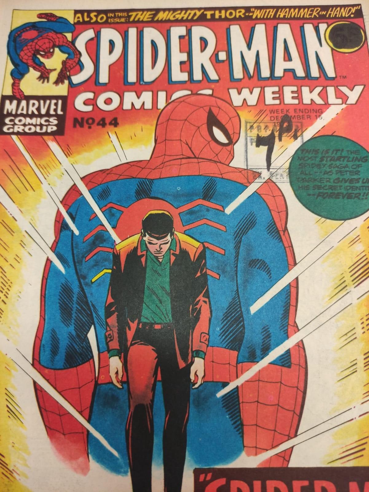 6 x Marvel comics. 1973 Spider-Man comics weekly. - Image 13 of 13