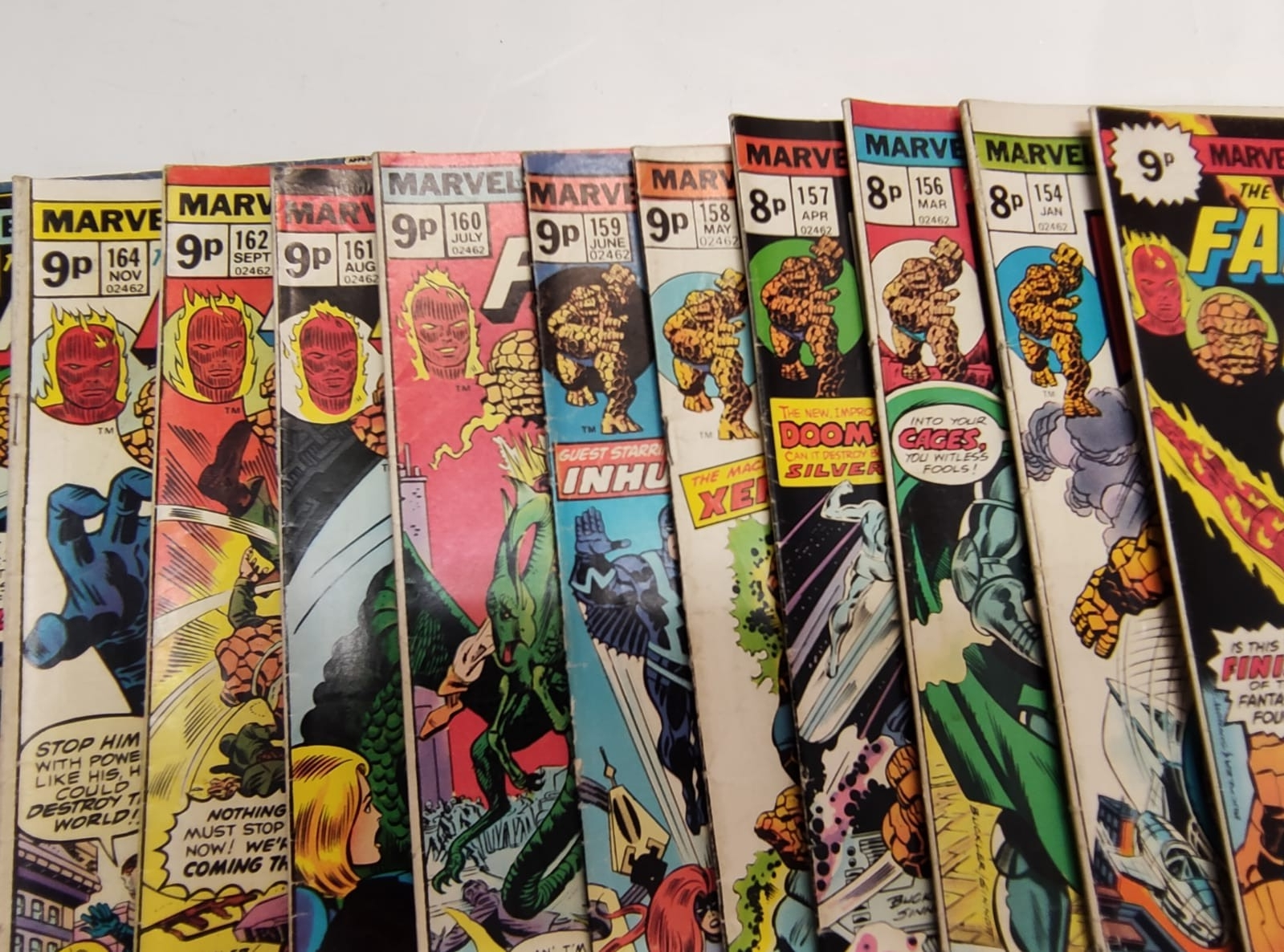 30x Marvel Fantastic four mid 1970s editions. Used, in good condition. - Image 5 of 17