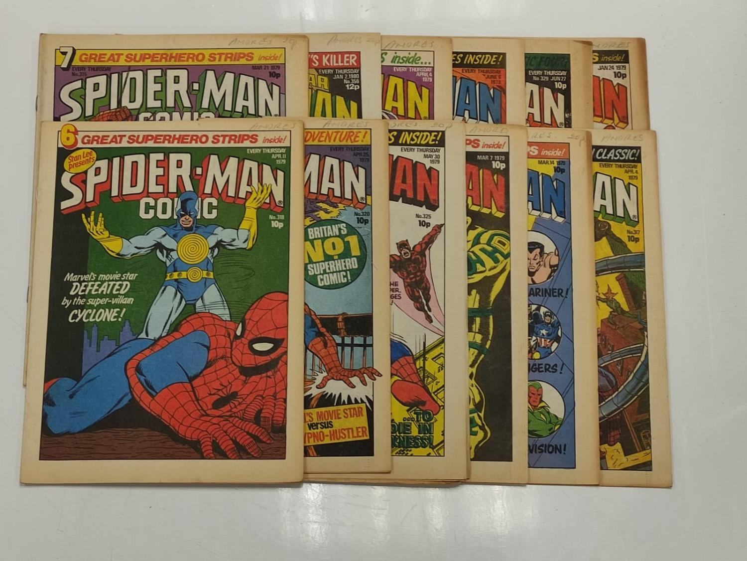 50 editions of Stan Lee Presents, a selection of 1979/1980's comics. - Image 34 of 71