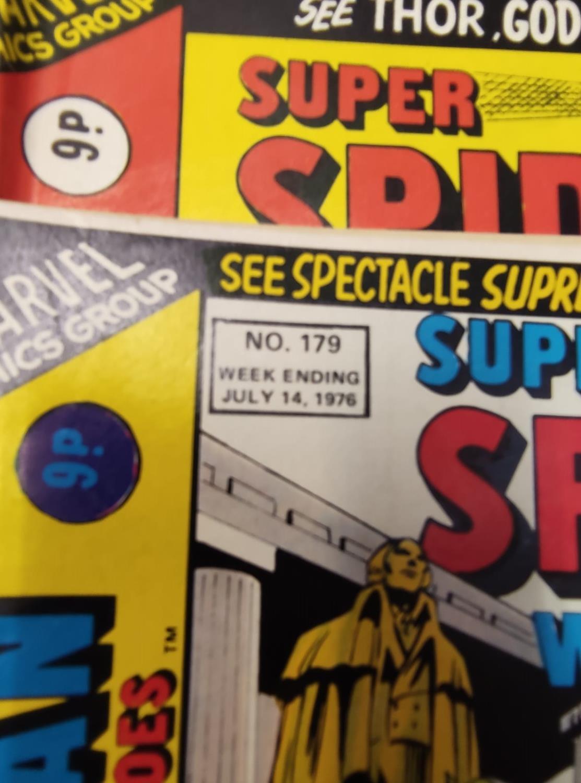 27 editions of Vintage Super Spider-Man Marvel Comics. - Image 9 of 13