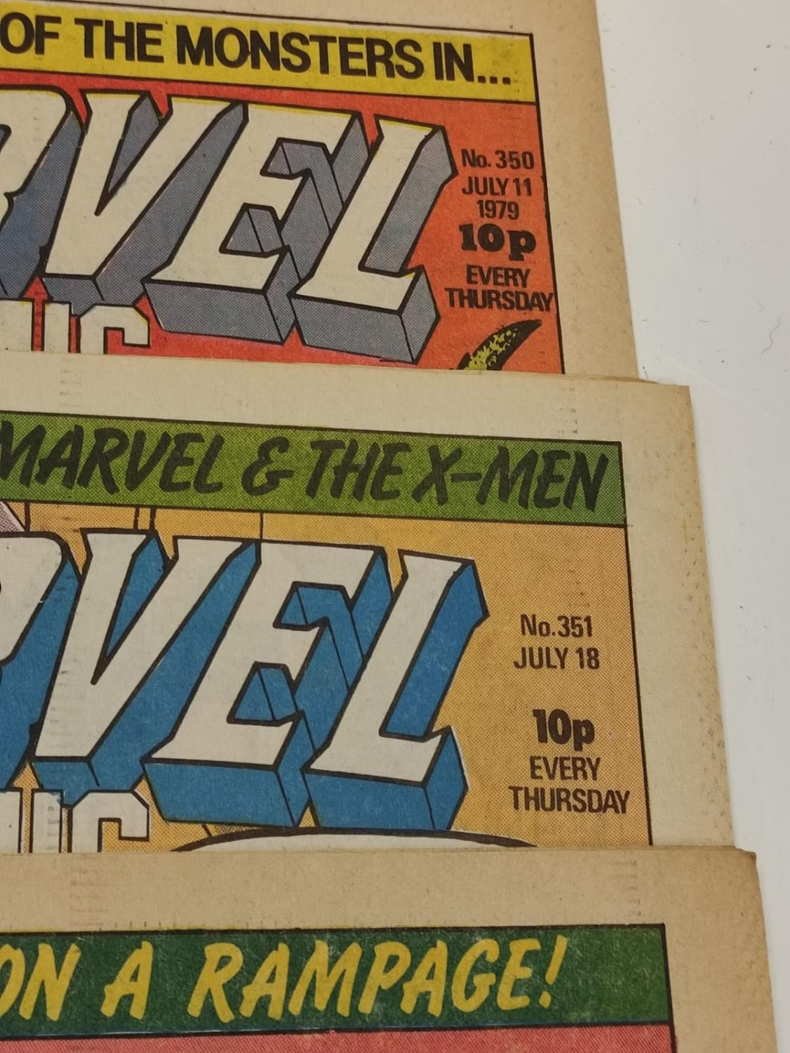 20 editions of mixed Vintage Marvel Comics. - Image 35 of 56