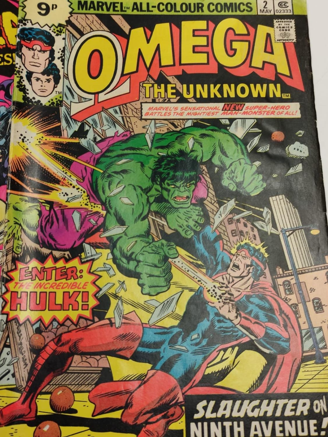 5 editions of Special Vintage Marvel Comics including 'The Tomb of Dracula'. - Image 8 of 15