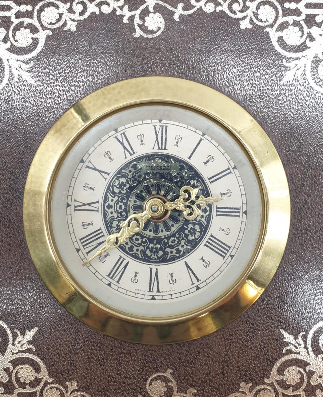Vintage Mantle Wind-up Clock by Meccedes Phillip Skandetui Malmo, Swedish Designer. 10.5 x 10.5cm. - Image 4 of 7