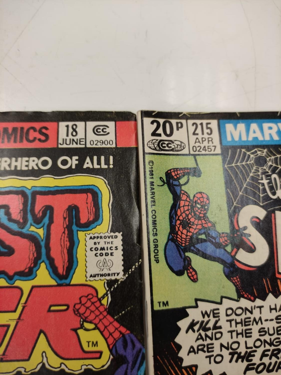 20 editions of mixed Vintage Marvel Comics. - Image 6 of 56