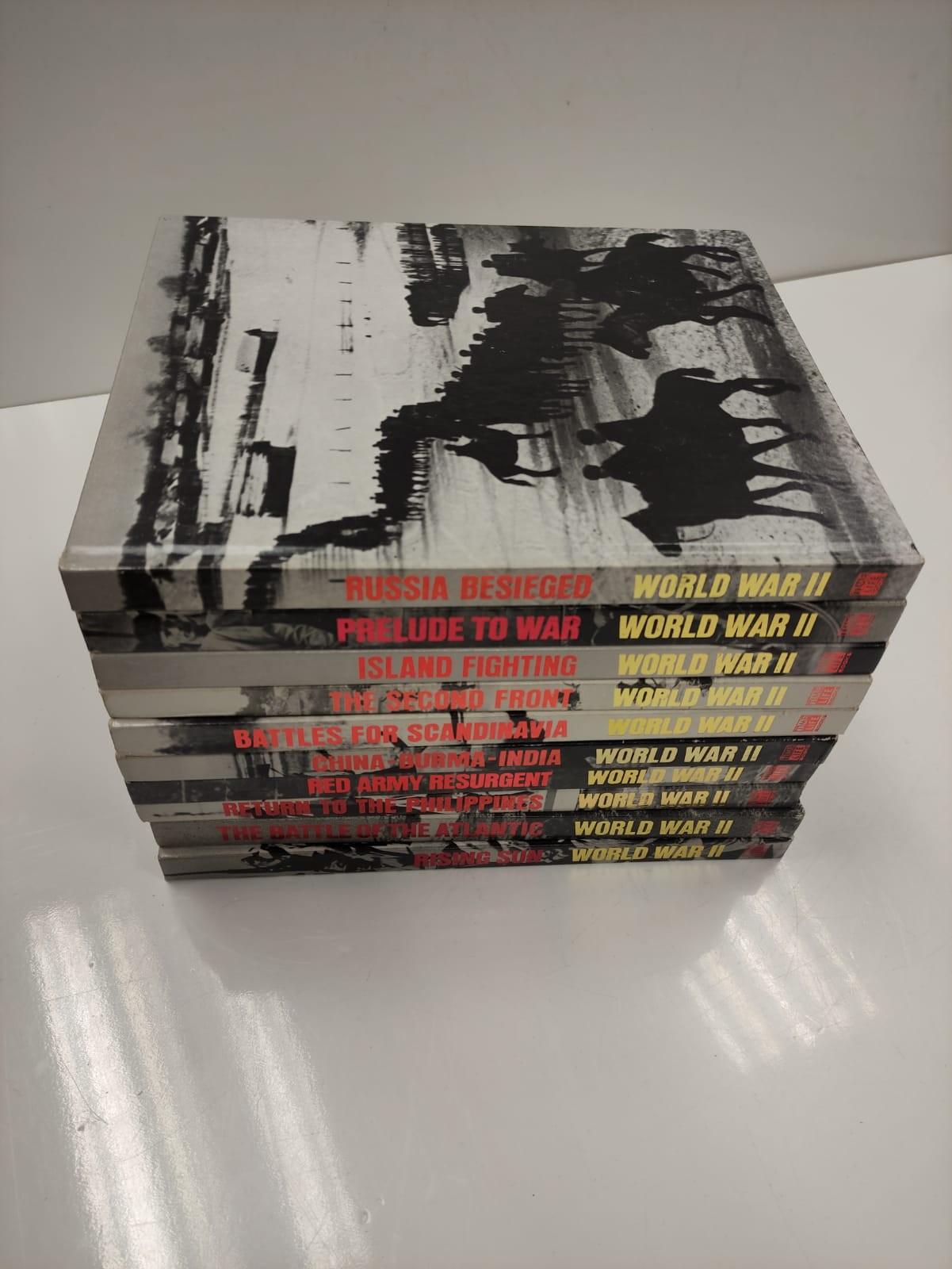 Set of Ten Timelife World War II Hard back books. - Image 2 of 12