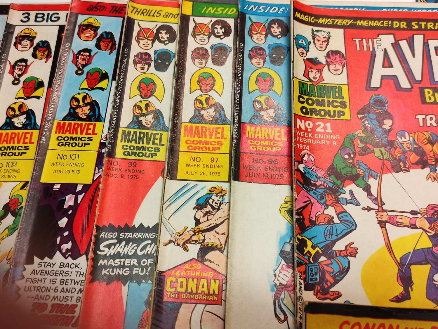 25 x Marvel comics. The Avengers. Dating from 1974-1976 - Image 5 of 18