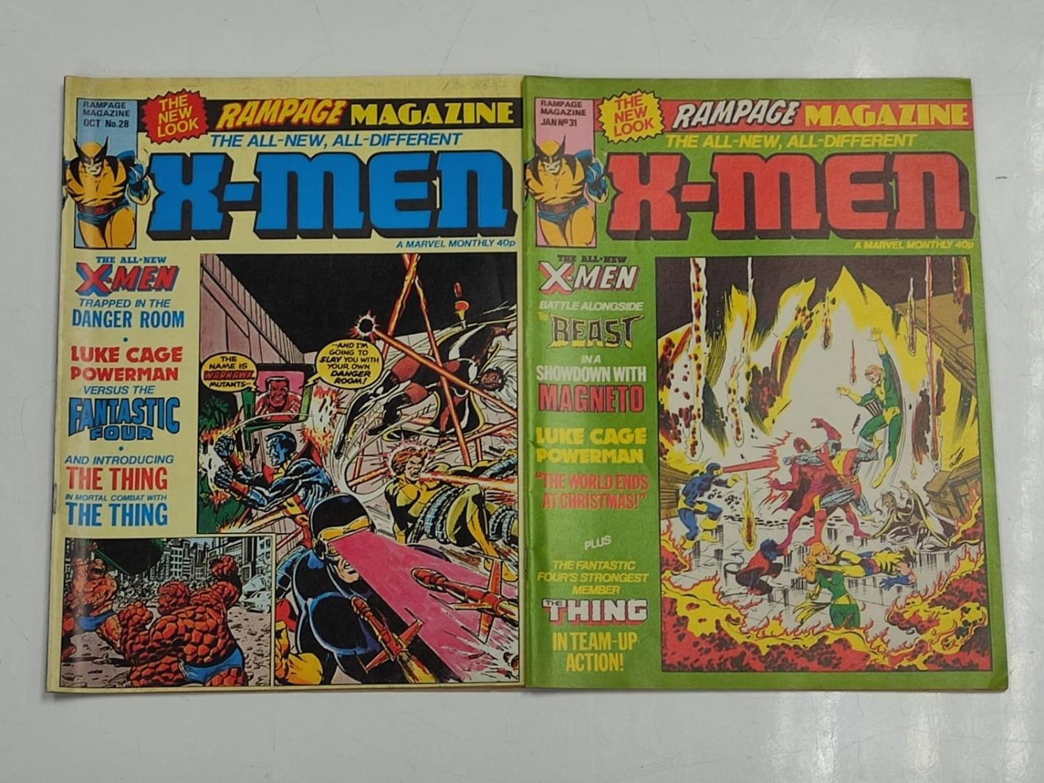 20 editions of mixed Vintage Marvel Comics. - Image 55 of 56