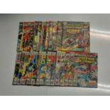 24 x Marvel comics. Marvel Team-Up featuring Spider-Man. 1977 - 1980.