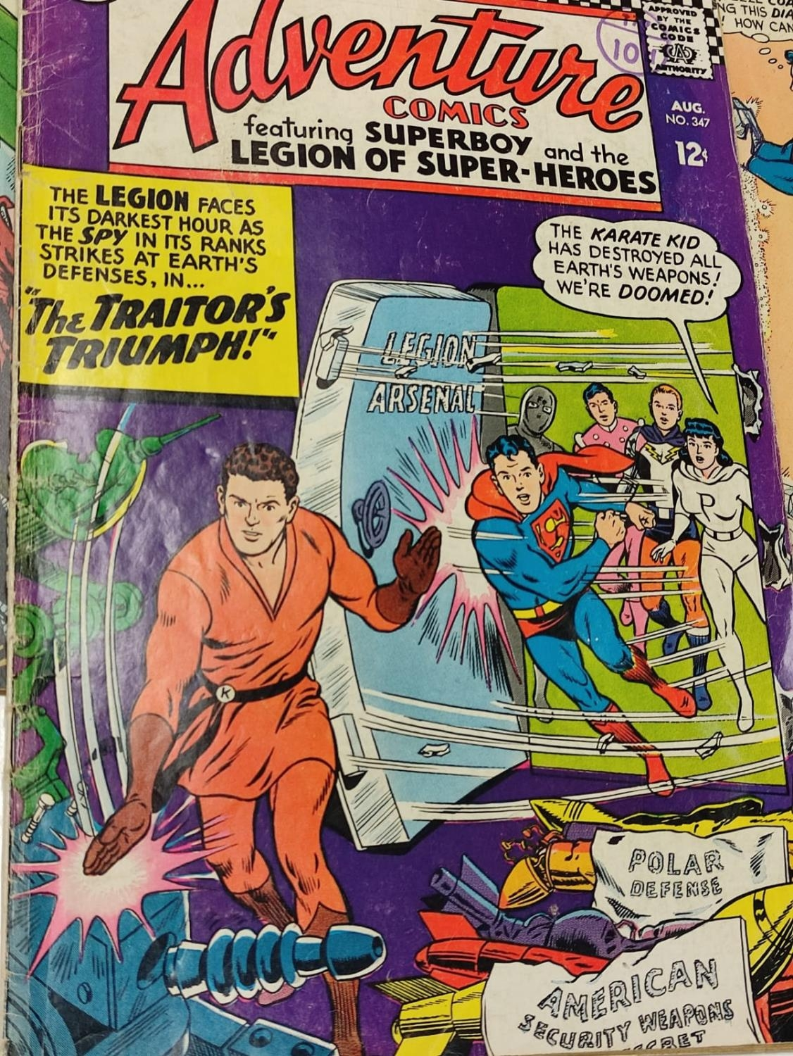 5 editions of DC Adventure Comics featuring Super-boy. - Image 5 of 19