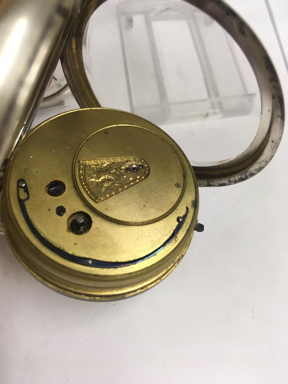 Antique silver pocket watches AF - Image 3 of 5