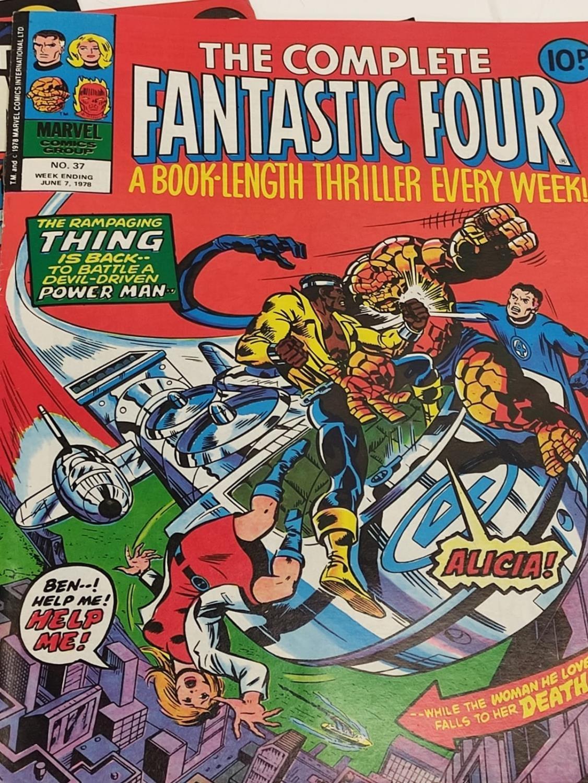 20 Mixed Vintage Marvel Comics. - Image 16 of 42