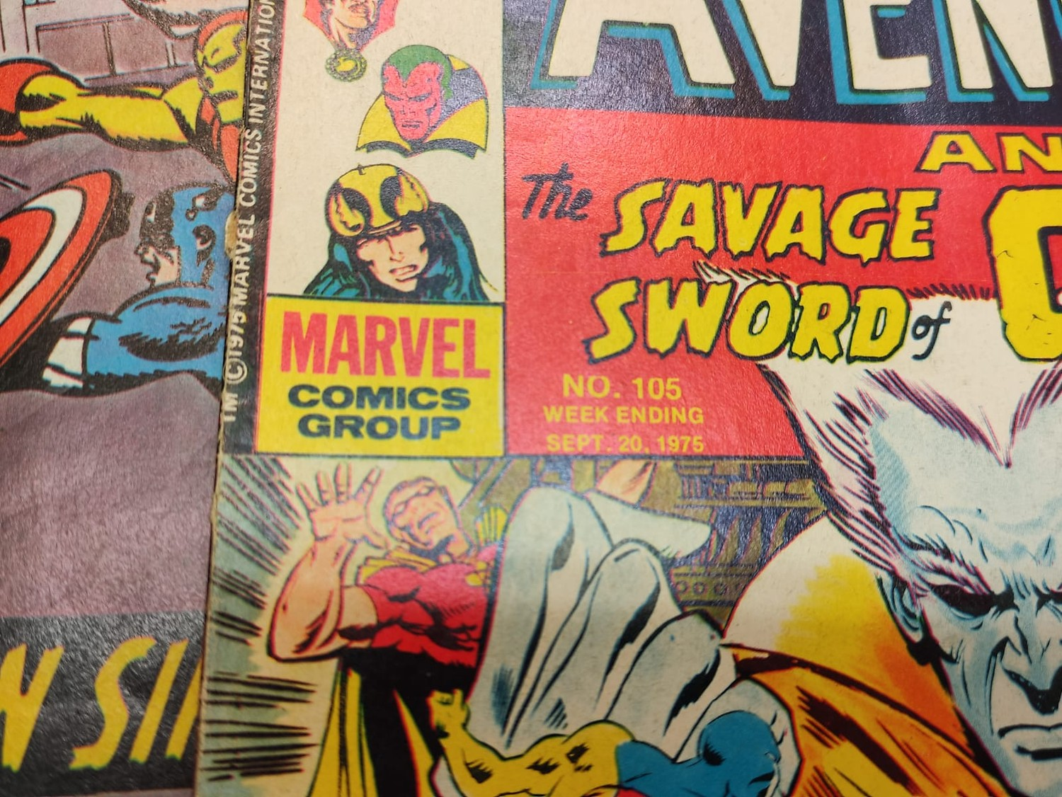 25 x Marvel comics. The Avengers. Dating from 1974-1976 - Image 10 of 18