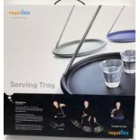 Royal VKB self-balancing serving tray, designed by Gijs Bakkar. Brand new in box, unused.