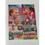 Aston Villa F.C. Programs. 1987-1988. Division 2 Runners Up. 26 Programs, including special Villa/