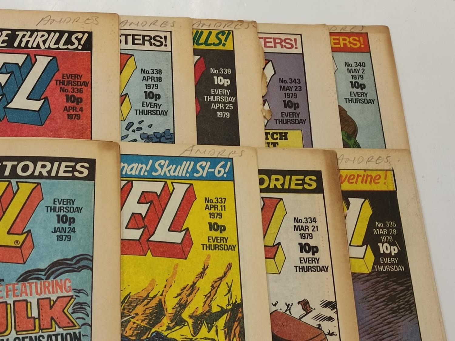 50 editions of Stan Lee Presents, a selection of 1979/1980's comics. - Image 4 of 71