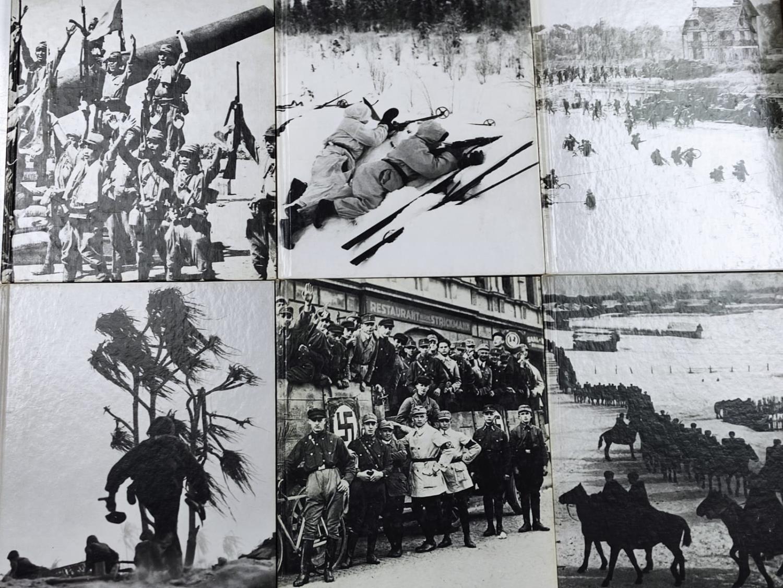 Set of Ten Timelife World War II Hard back books.