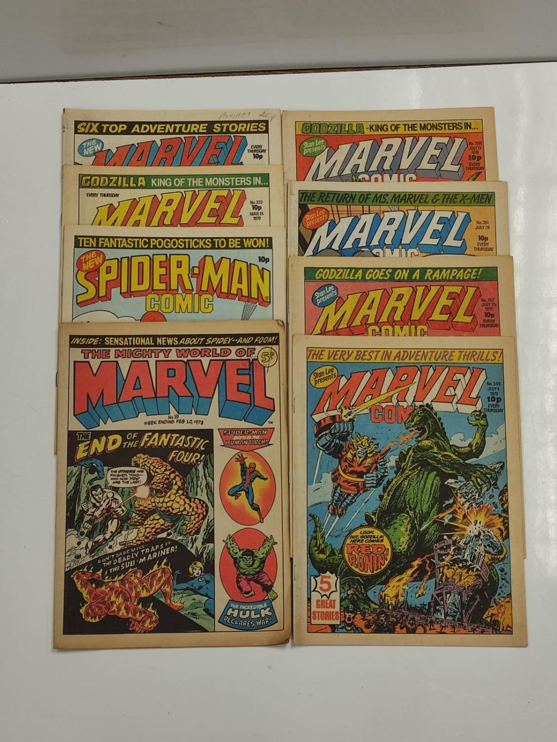 20 editions of mixed Vintage Marvel Comics. - Image 44 of 56