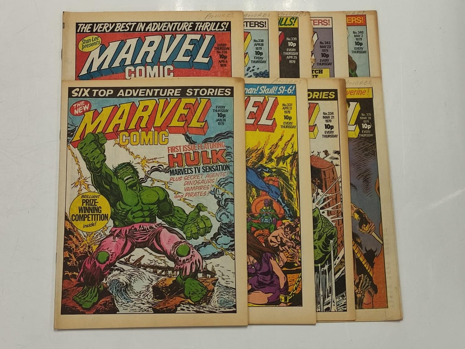50 editions of Stan Lee Presents, a selection of 1979/1980's comics. - Image 6 of 71
