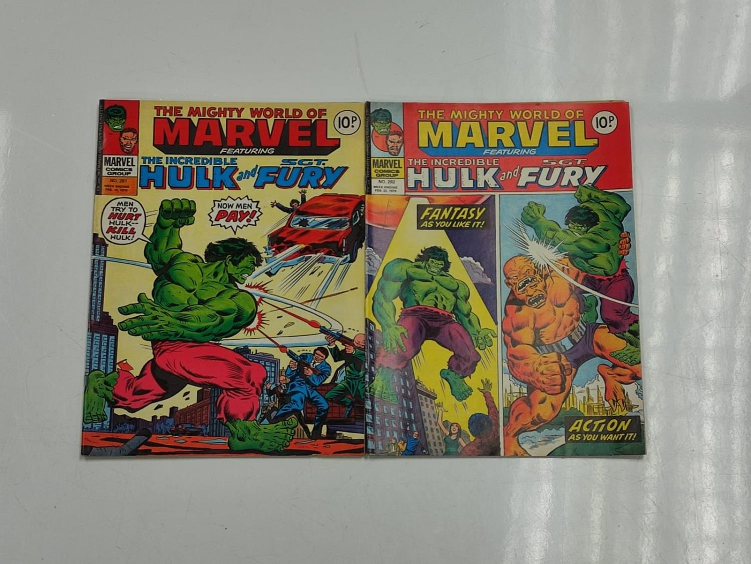 5 editions of Special Vintage Marvel Comics including 'The Tomb of Dracula'. - Image 4 of 15