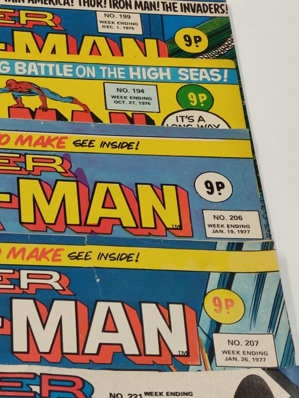 27 editions of Vintage Super Spider-Man Marvel Comics. - Image 12 of 13