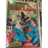 11 editions of Vintage Louis Lane DC Comics. 1966.