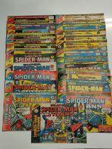 29 x Marvel comics. 1977 Super Spider-Man and the Titans.