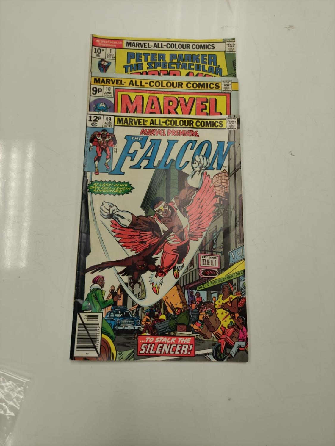 3 Eclectic Vintage Marvel Comics, including the rare 'Peter Parker, The Spectacular Spider-Man'. - Image 8 of 8
