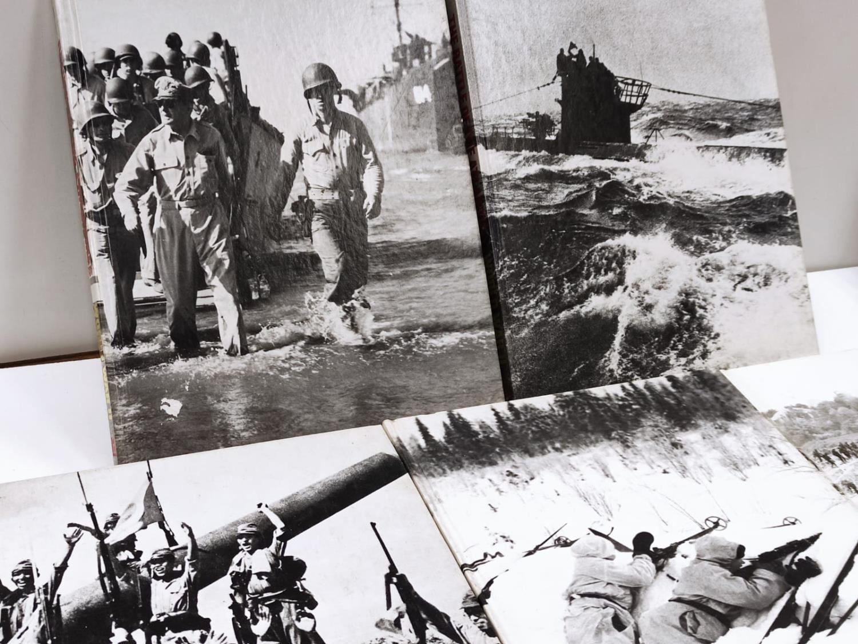 Set of Ten Timelife World War II Hard back books. - Image 6 of 12