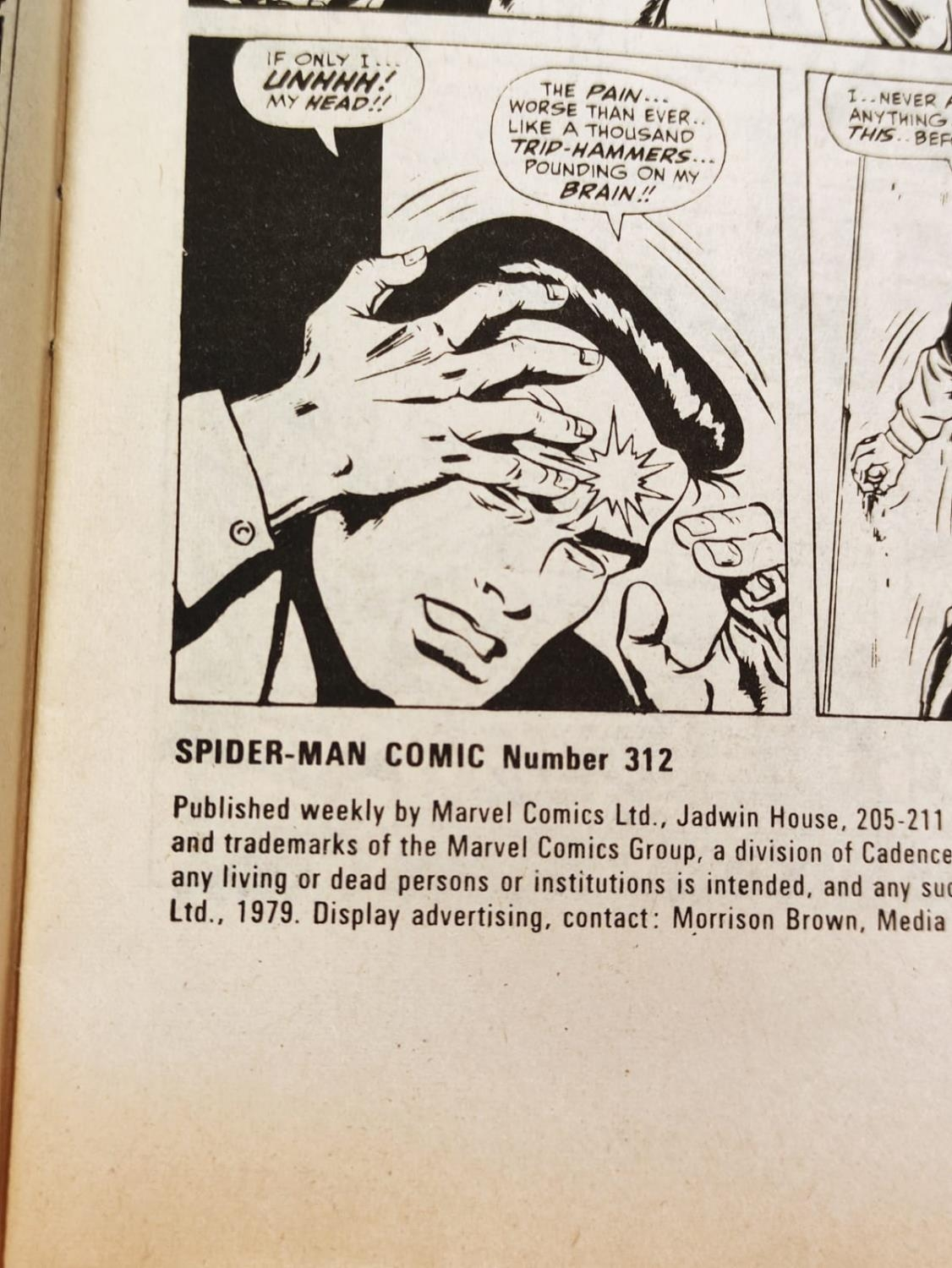 20 editions of mixed Vintage Marvel Comics. - Image 29 of 56