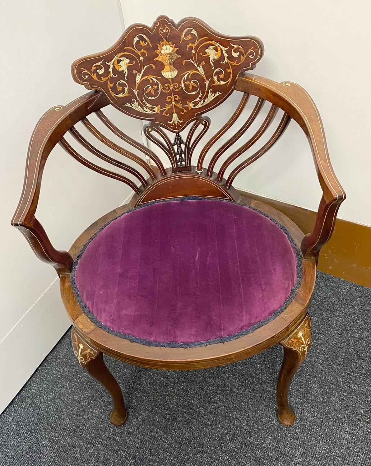 Designed by Stephen Web for Collinson and Lock and Sold by Waring & Gillow in 1890 to the Thomas - Image 2 of 8