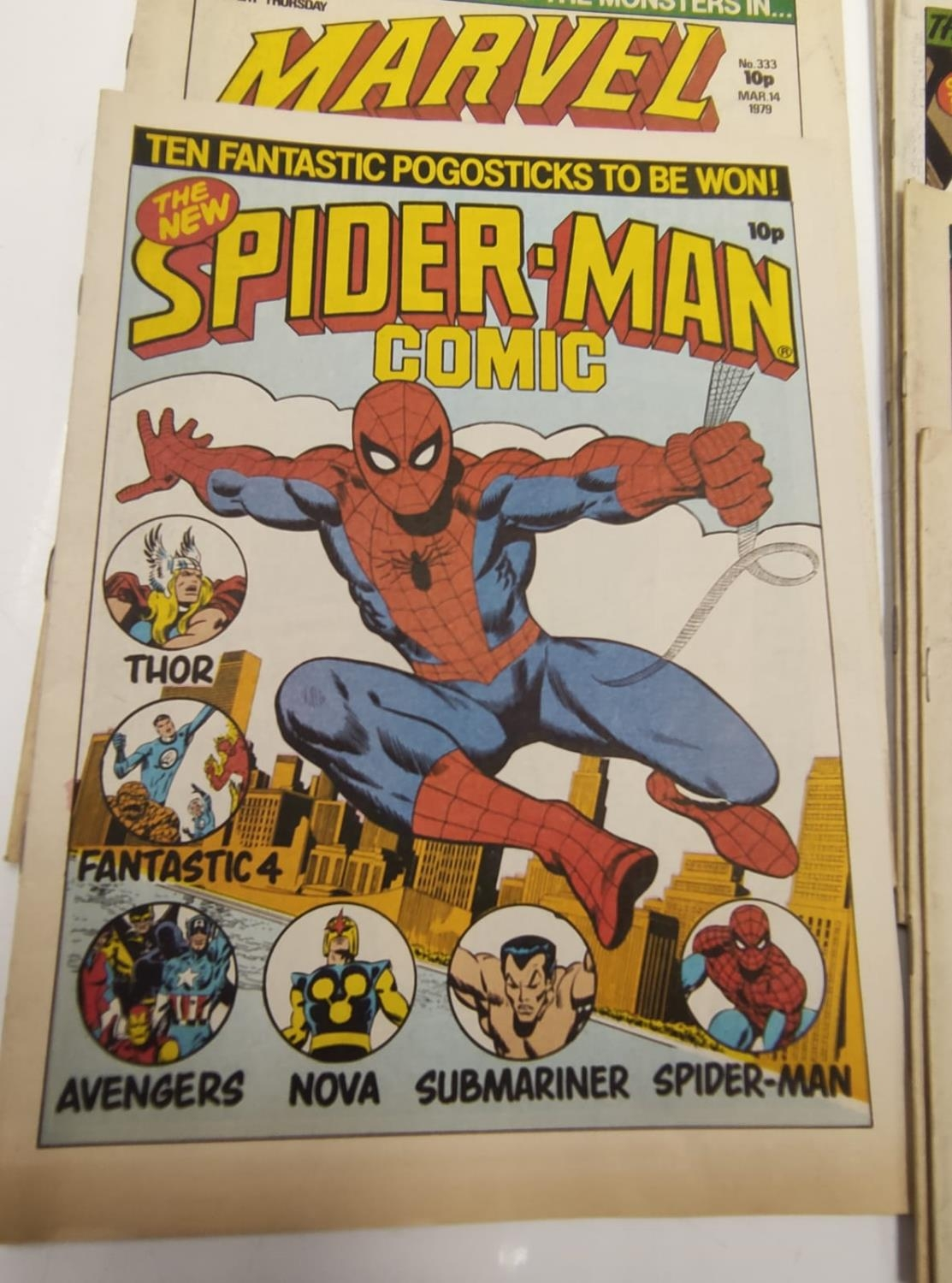 20 editions of mixed Vintage Marvel Comics. - Image 30 of 56