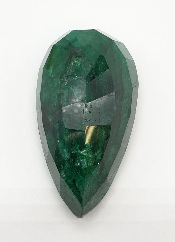 184ct Large Size Emerald Gemstone Pear Shape GLI CERTIFIED - Image 5 of 9
