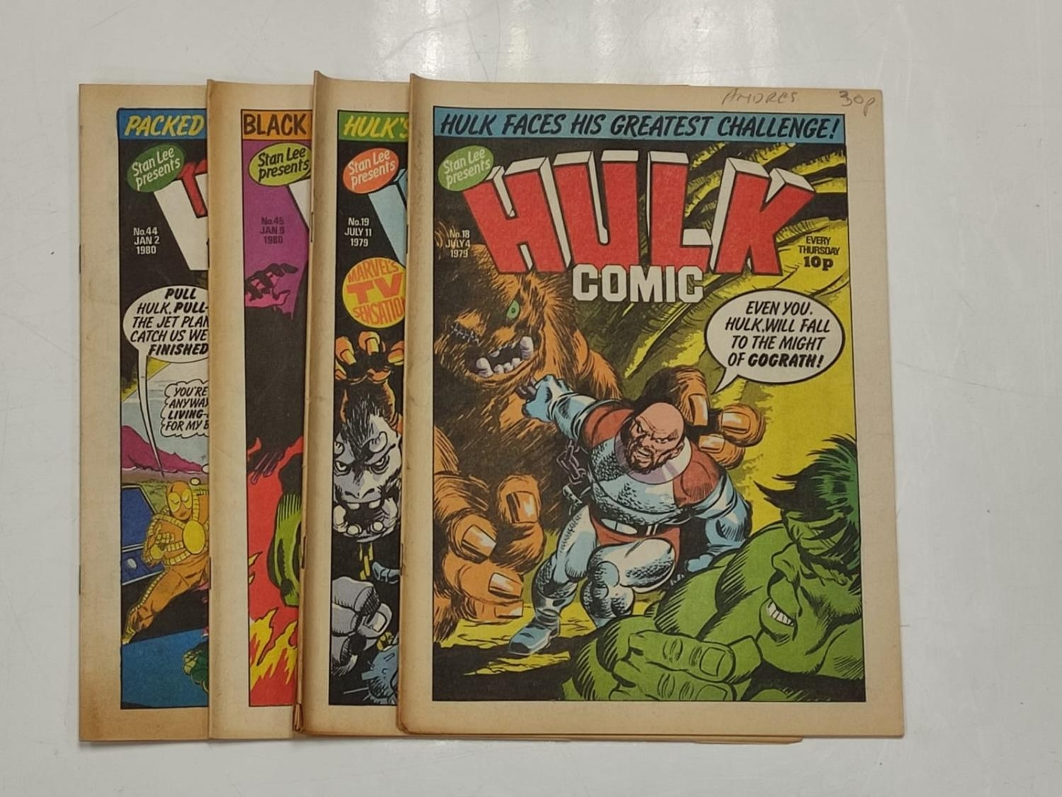 50 editions of Stan Lee Presents, a selection of 1979/1980's comics. - Image 25 of 71