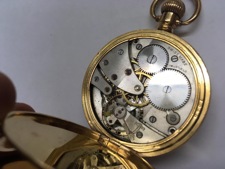 Vintage full hunter pocket watch (AF) - Image 4 of 9