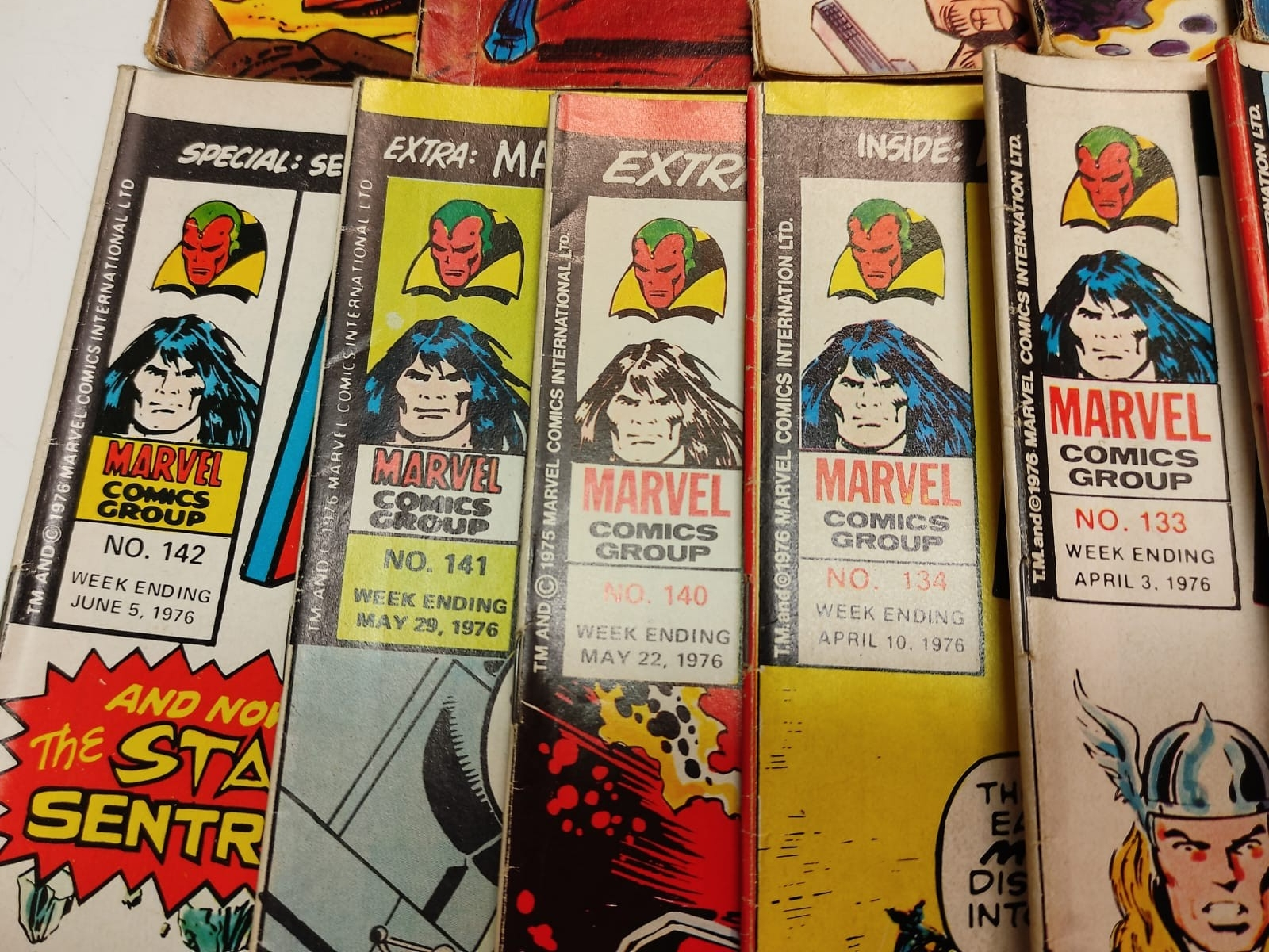 25 x Marvel comics. The Avengers. Dating from 1974-1976 - Image 8 of 18