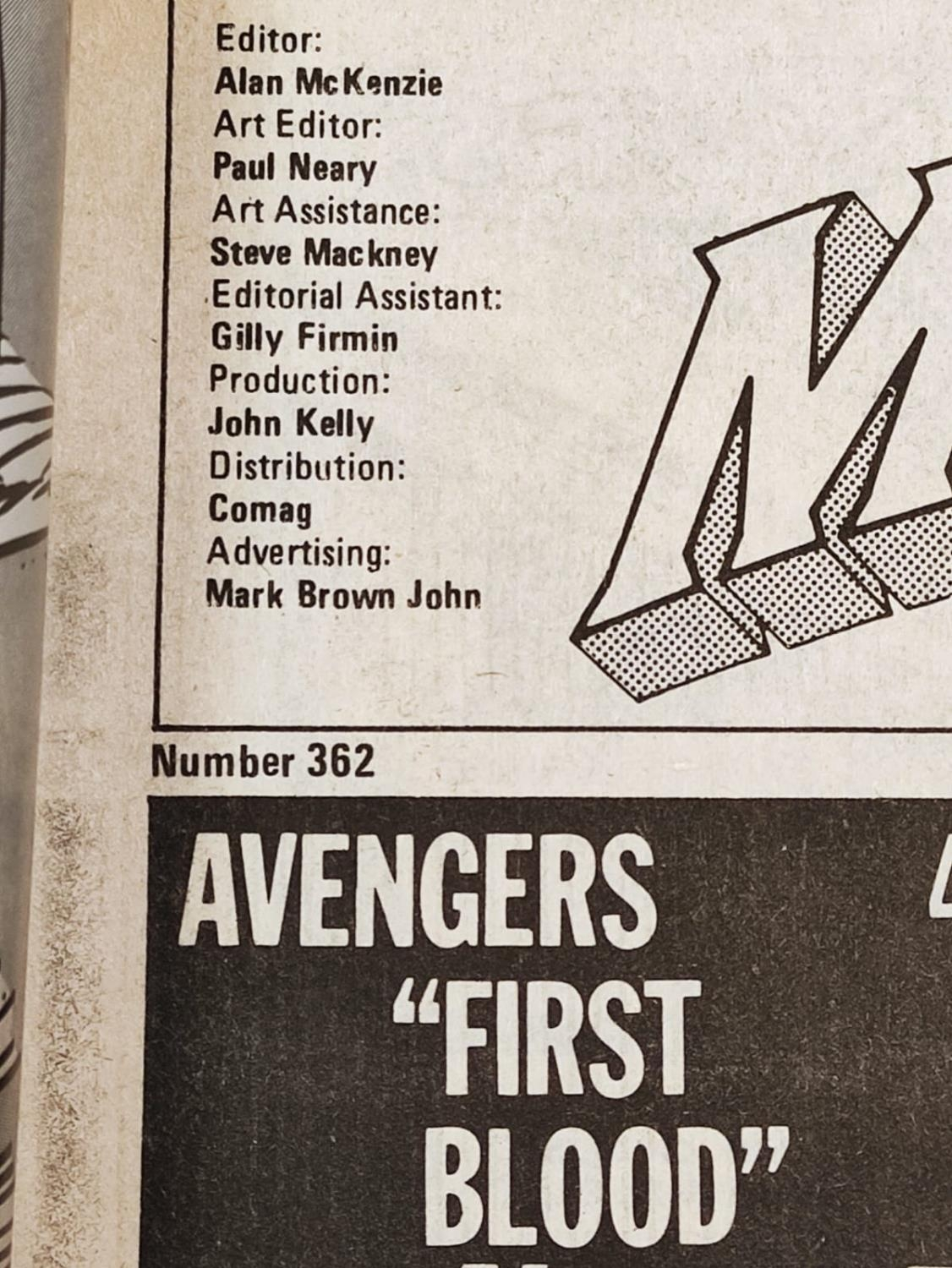 20 editions of mixed Vintage Marvel Comics. - Image 17 of 56