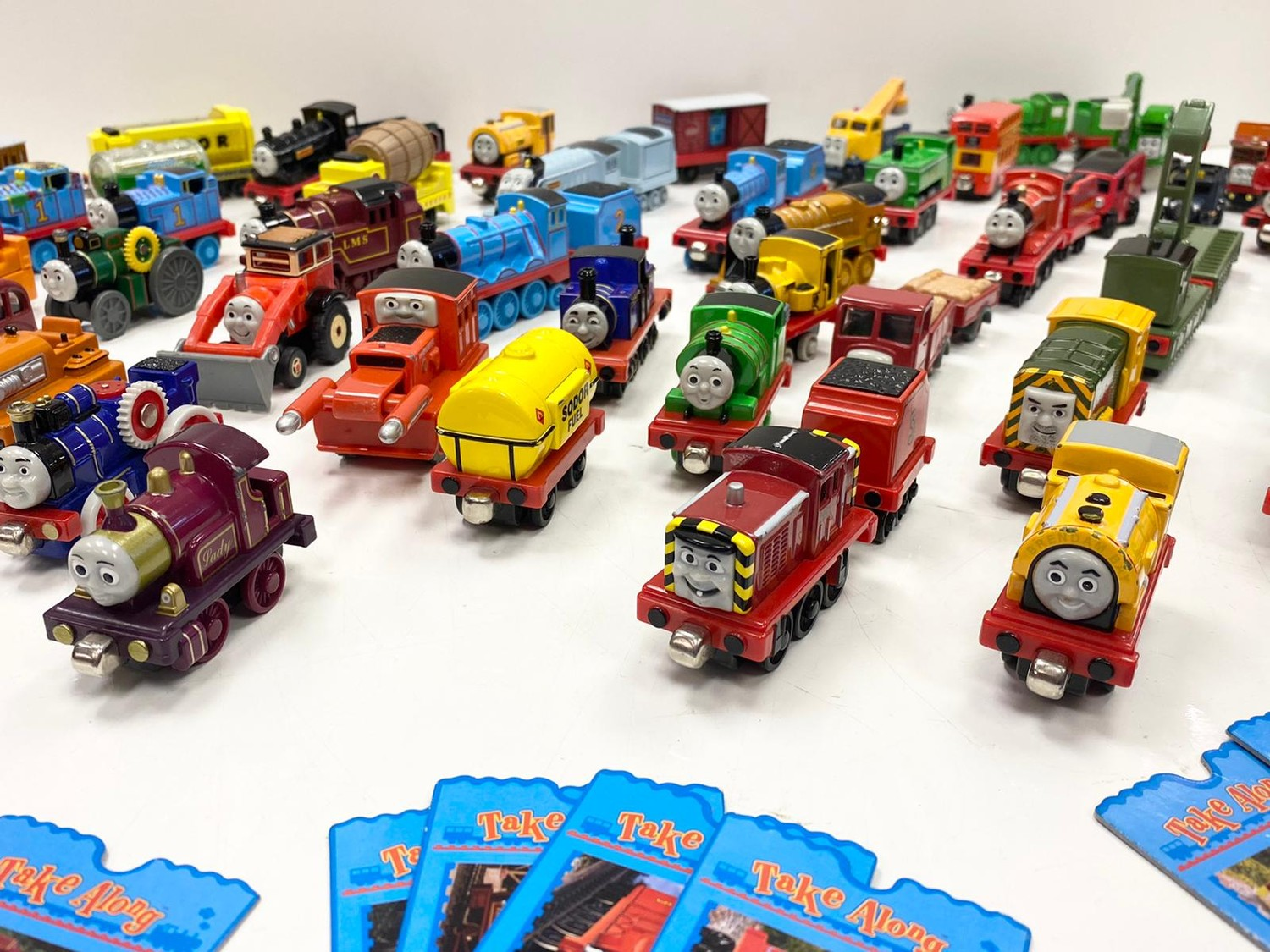 Collection of Thomas & Friends, Take-Along Die Cast toys. Total of 45 models including Mighty Mac - Image 3 of 4