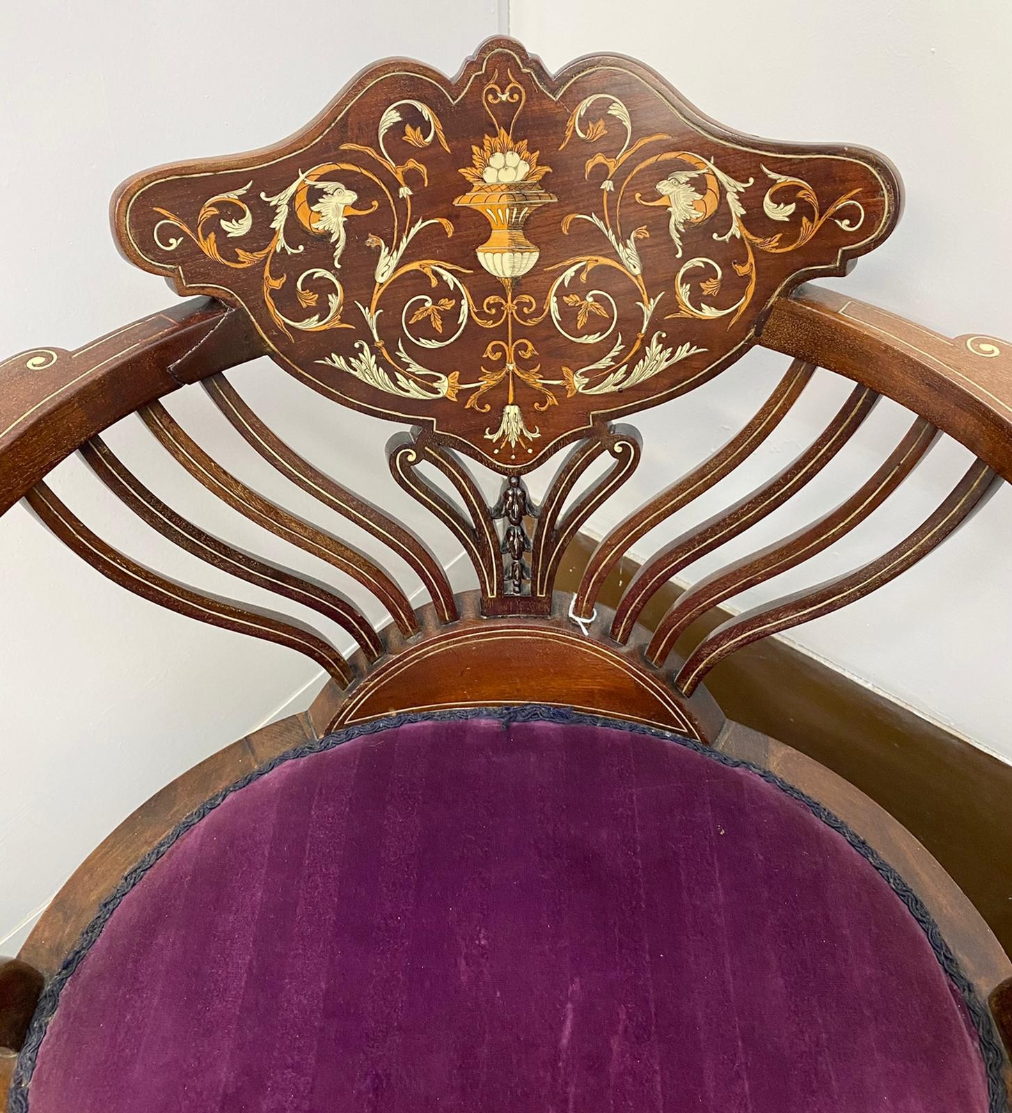Designed by Stephen Web for Collinson and Lock and Sold by Waring & Gillow in 1890 to the Thomas - Image 4 of 8