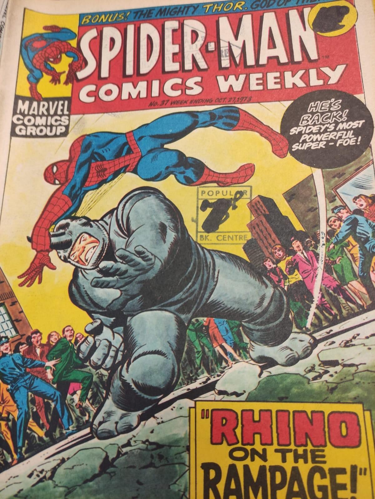 6 x Marvel comics. 1973 Spider-Man comics weekly. - Image 12 of 13