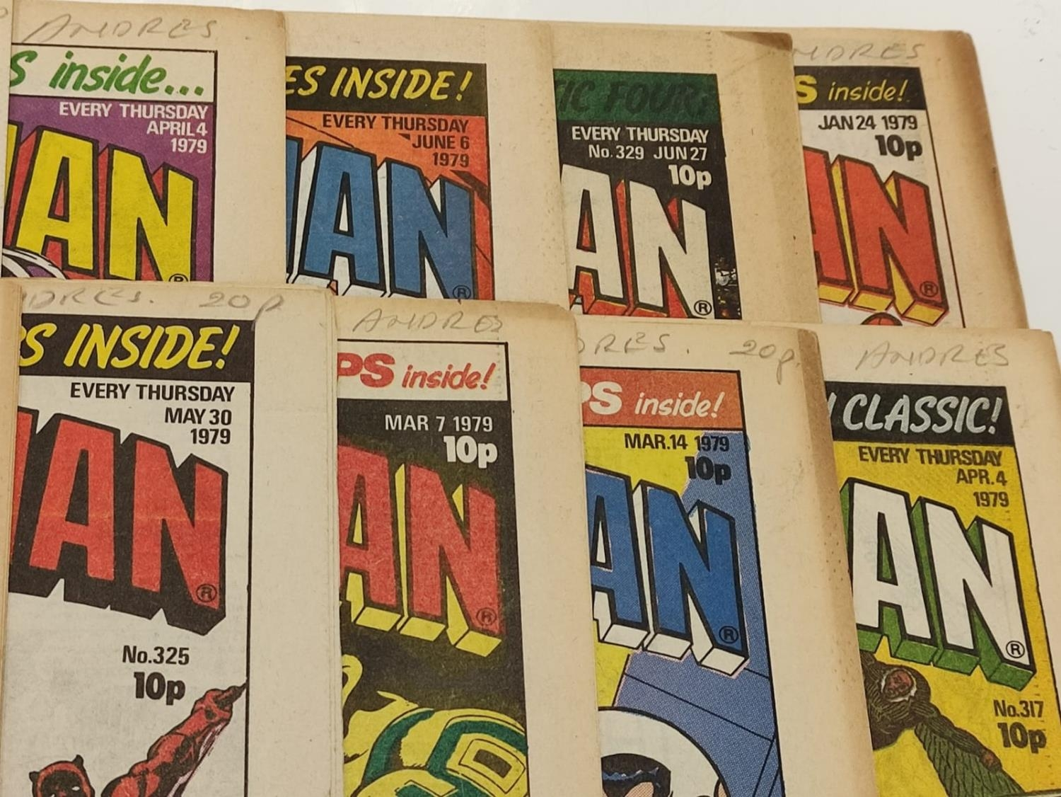 50 editions of Stan Lee Presents, a selection of 1979/1980's comics. - Image 29 of 71