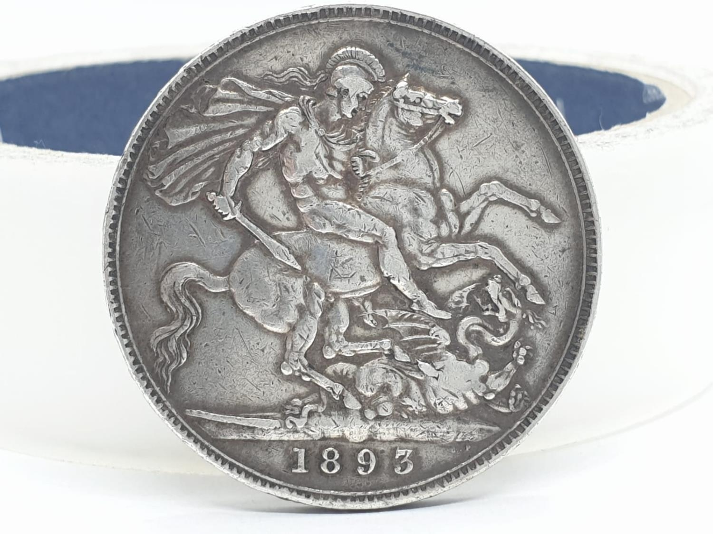 1893 Victorian silver crown