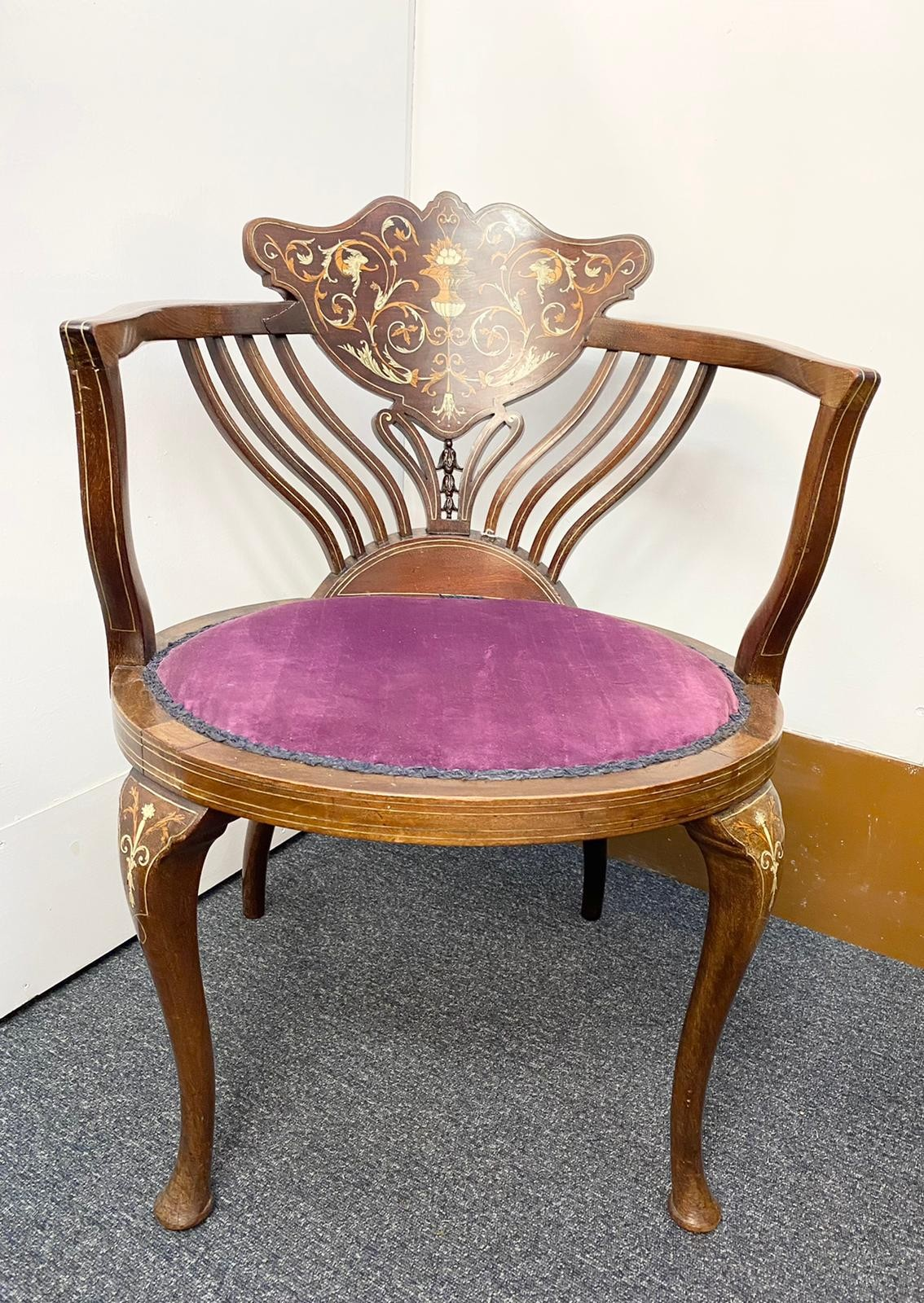 Designed by Stephen Web for Collinson and Lock and Sold by Waring & Gillow in 1890 to the Thomas - Image 3 of 8